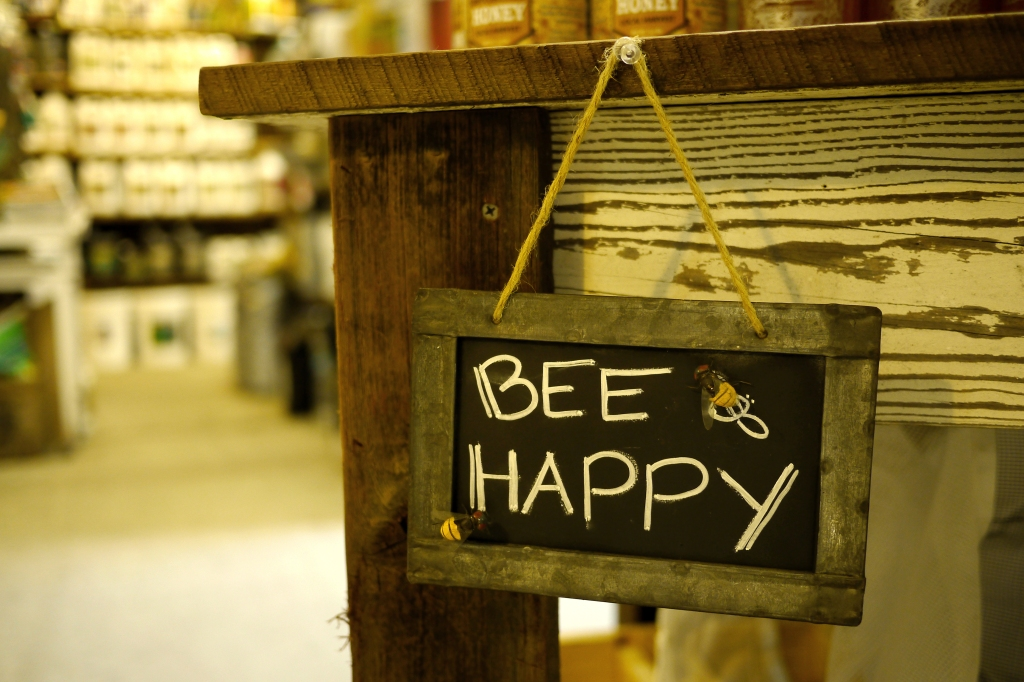 """don't worry...bee happy"""