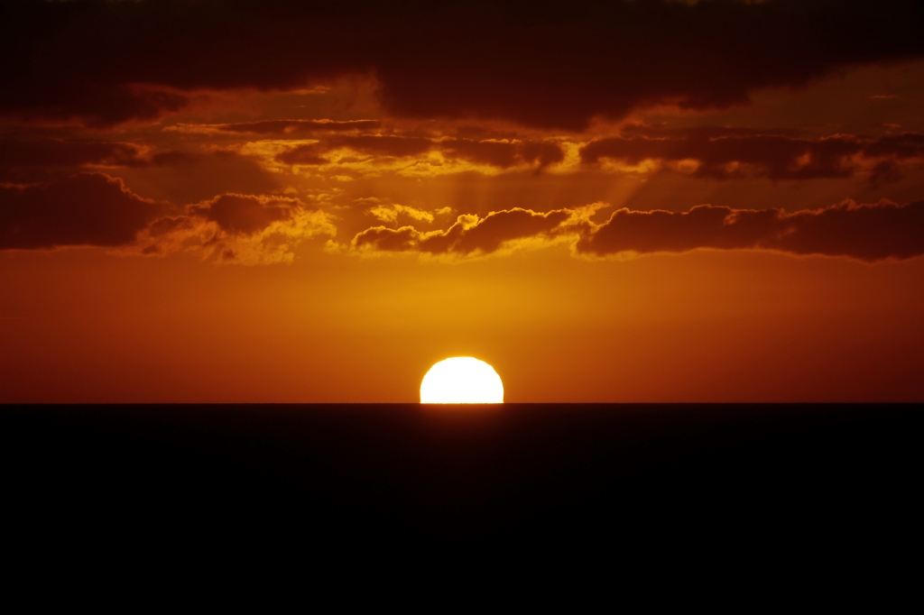 """the sun has set for 2013; there's change on the horizon"""
